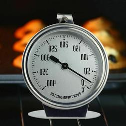 0-400 Degree Stainless Steel Oven Thermometer Temperature Ga