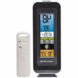 AcuRite #00384M Color Digital Indoor / Outdoor Thermometer w