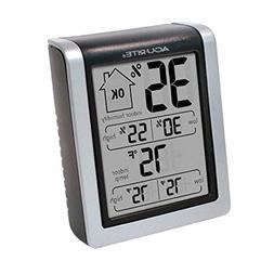 AcuRite 00613 Humidity Monitor with Indoor Thermometer, Digi