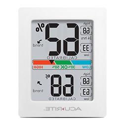 AcuRite 01083 Indoor Thermometer & Hygrometer with Humidity