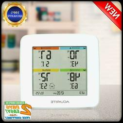 Acurite 01095M Indoor Temperature Humidity Station With 3 Se