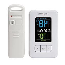 AcuRite 02028 Color Digital Thermometer with Indoor/Outdoor
