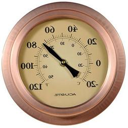 AcuRite 02321 8-Inch Copper Porthole Thermometer
