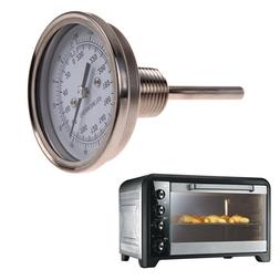 """1/2"""" Stainless Steel Thermometer Dial for BBQ Moonshine Stil"""