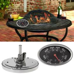 100-800℉ Oval BBQ Smoker Grill Thermometer Dial Temperatur