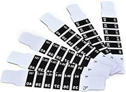 10pcs Instant Read Forehead Temperature Thermometer Strips,R