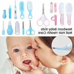 10pcs/Set Newborn Baby Kids Nail Hair Health Care Thermomete