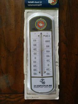 12 Inch Metal US Marine Thermometer