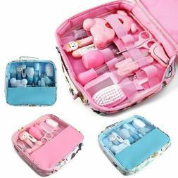 13pcs Baby Kids Health Care Groom Set Brush Nail Hair Thermo