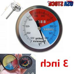 """2"""" Temperature Thermometer Gauge   Barbecue BBQ Grill Smoker"""