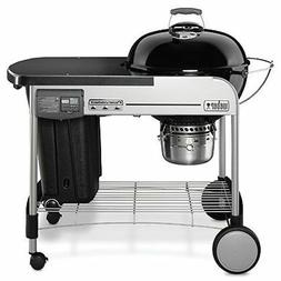 Weber 15501001 Performer Deluxe Charcoal Grill, 22-Inch, Bla