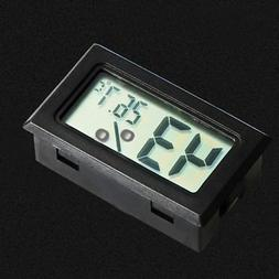 1x Small Digital LCD Indoor Temperature Humidity Meter Therm