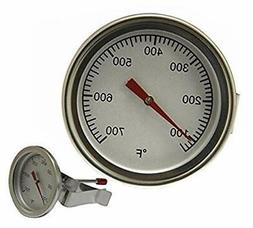 Hongso 2.125 inch TG011 Grill Thermometer Heat Indicator Rep