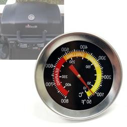 "2-3/8"" Thermometer Temperature Thermostat Gauge for BBQ Barb"