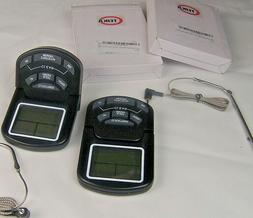 2 TEIKA Digital Food, Meat Thermometers, with Timer X0018MV8