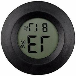 2 Pack Digital Reptile Thermometer Switchable Celsius Fahren