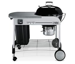 Weber 22 Performer Premium Black Charcoal Grill