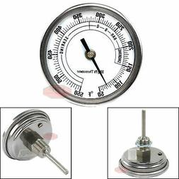 "3"" BBQ Pit Grill Thermometer Cooking Dial 550F Temp Gauge Sm"