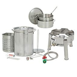 32 quart complete stainless steel