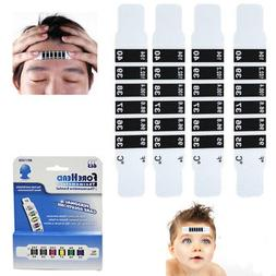 4 Forehead Thermometer Strip Adult Baby Kid Reusable Head Fe
