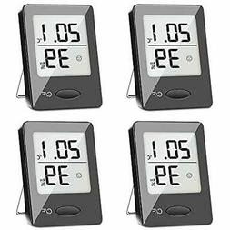 4 Pack Digital Hygrometer Indoor Thermometer, Humidity Gauge