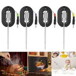 4 PCS Digital Wireless Meat Thermometer Probe Replacement Ac