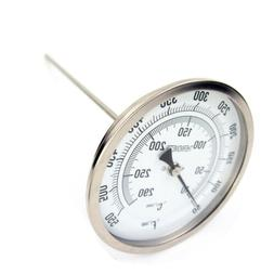 "5"" Analog Dial Bimetal Thermometer with 12"" Stem 50 to 550°"