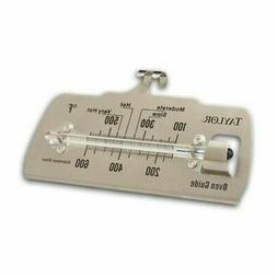5* Commercial Oven Guide Thermometer - Celsius, Fahrenheit R