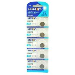 5 Pcs CR1225 1225 3V Lithium Battery for Thermometers and Wa