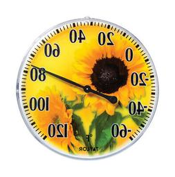 Taylor 5638 Diameter Outdoor Thermometer, 6 Inch