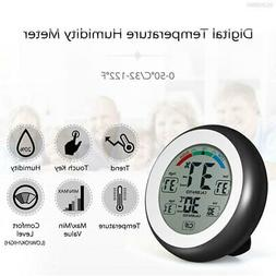 7C21 with LCD Display Hygrometer Thermometer Humidity Meter