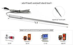 8.5'' Stainless Steel Meat Probe Thermometer Replacement for