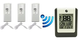 Ambient Weather WS-15-X3 Wireless 8-Channel Thermometer with