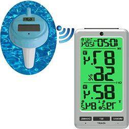 Ambient Weather WS-25 Wireless 8 Channel Floating Pool and S