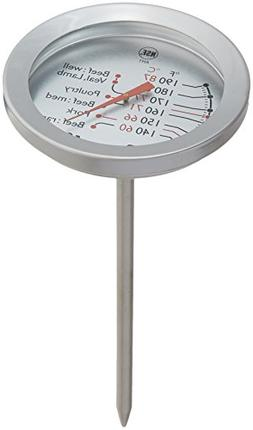 Escali AH1 NSF Listed Oven Safe Meat Thermometer, Silver