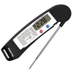 GDEALER DT1 Digital Instant Read Meat Thermometer with Foldi