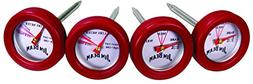 Jim Beam JB0134 Poultry and Steak Mini Thermometers, 4-Pack,