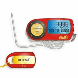 Taylor 817 Weekend Warrior Digital Probe Thermometer w/ Remo