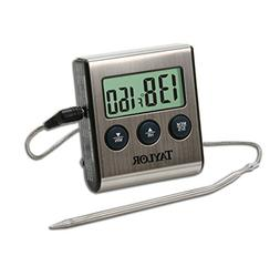 Taylor Pro Programmable Cooking and Barbeque Thermometer wit