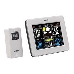 Taylor Wireless Digital Deluxe Color Weather Station Forecas