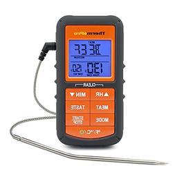 ThermoPro TP06S Digital Grill Meat Thermometer with Probe fo