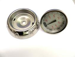 Weber Gas Grill Thermometer 67088 and Bezel 67717