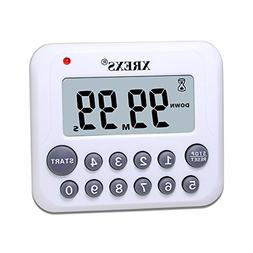 XREXS Digital Kitchen Timer Magnetic Countdown Up Cooking Ti