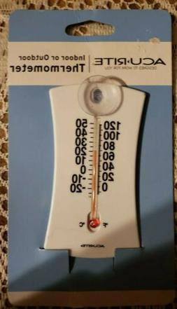 Acu-Rite 4 Suction Cup Mount Indoor / Outdoor Thermometer