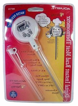 Acu-Rite Digital Instant Read Meat Thermometer 00721 Acurite