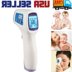 Adult Baby Digital IR Infrared Body Thermometer Forehead Sur