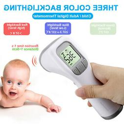Digital No Touch Infrared Body Forehead Thermometer Baby Adu