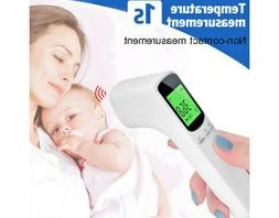 Adult Forehead Ear Body Thermometers No-touchs Contact Infra