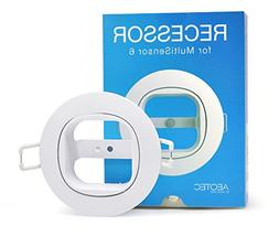 Aeotec MultiSensor 6 Recessor. In-ceiling and in-wall recess