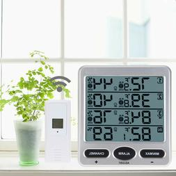Ambient Weather Meter Wireless Thermometer Hygrometer Temper